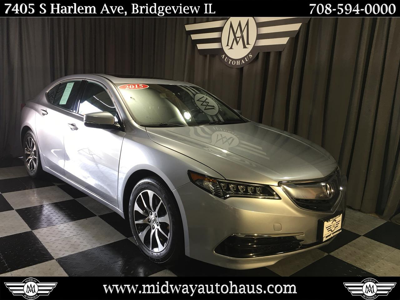 Pre-Owned 2015 Acura TLX 4dr Sdn FWD Tech