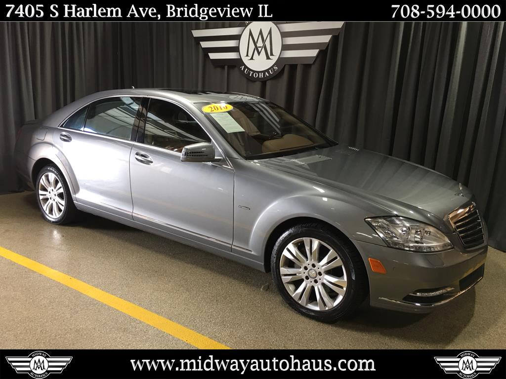 Pre-Owned 2010 Mercedes-Benz S-Class 4dr Sdn S 400 Hybrid RWD