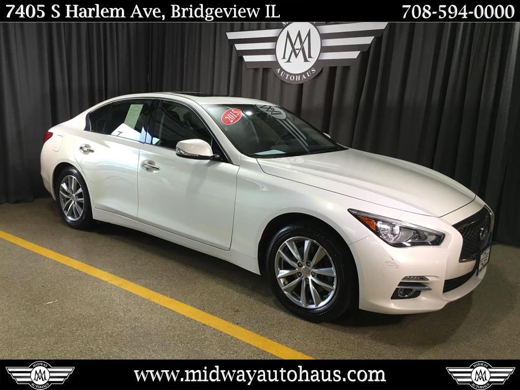 Pre-Owned 2015 INFINITI Q50 4dr Sdn AWD