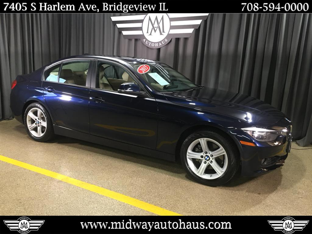 Pre-Owned 2015 BMW 3 Series 4dr Sdn 328xi AWD