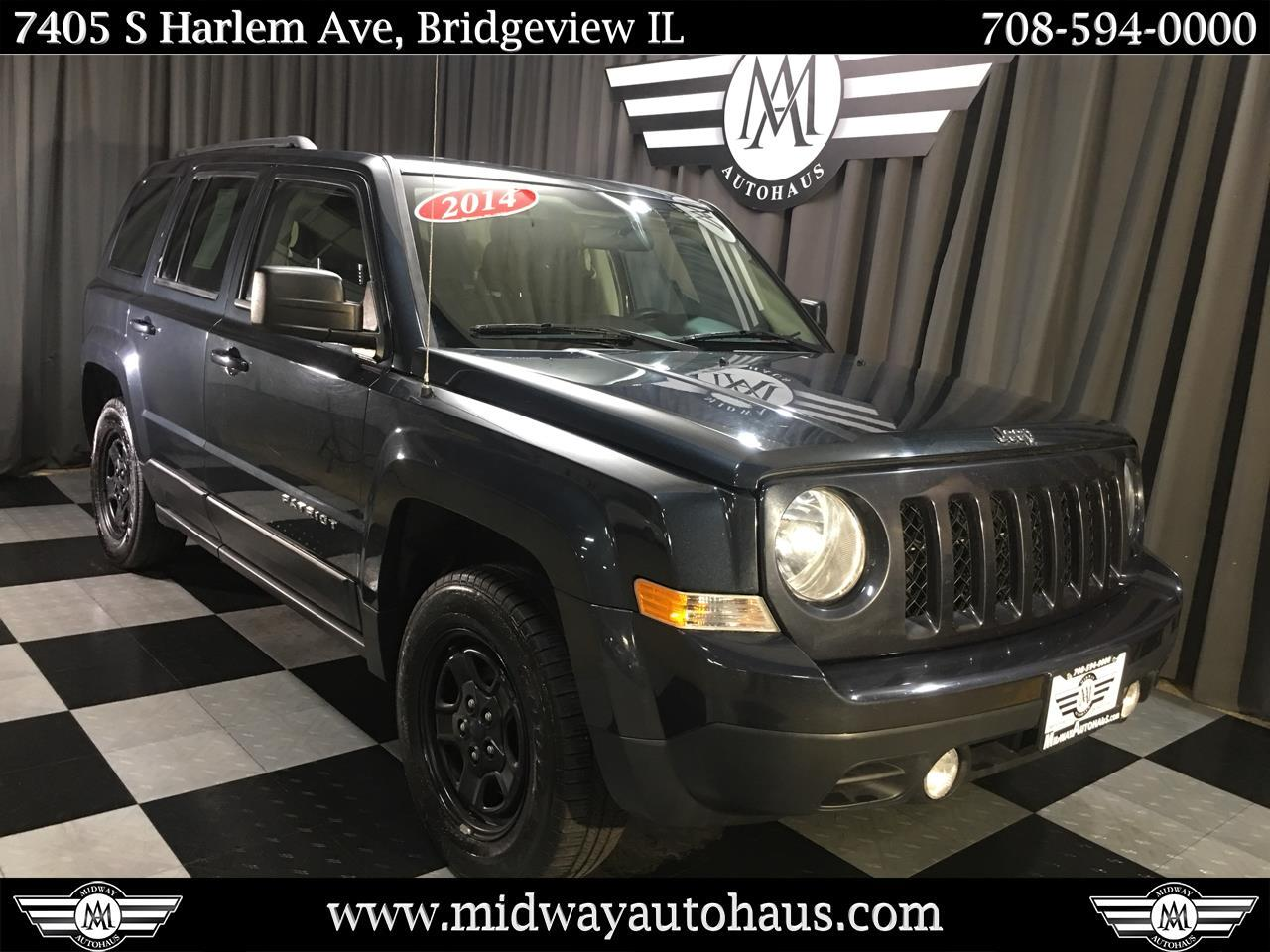 Pre-Owned 2014 Jeep Patriot 4WD 4dr Sport