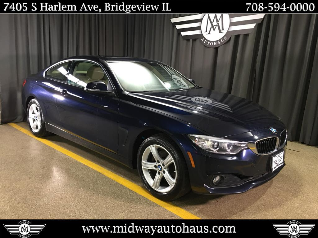 Pre-Owned 2015 BMW 4 Series 2dr Cpe 428i xDrive AWD