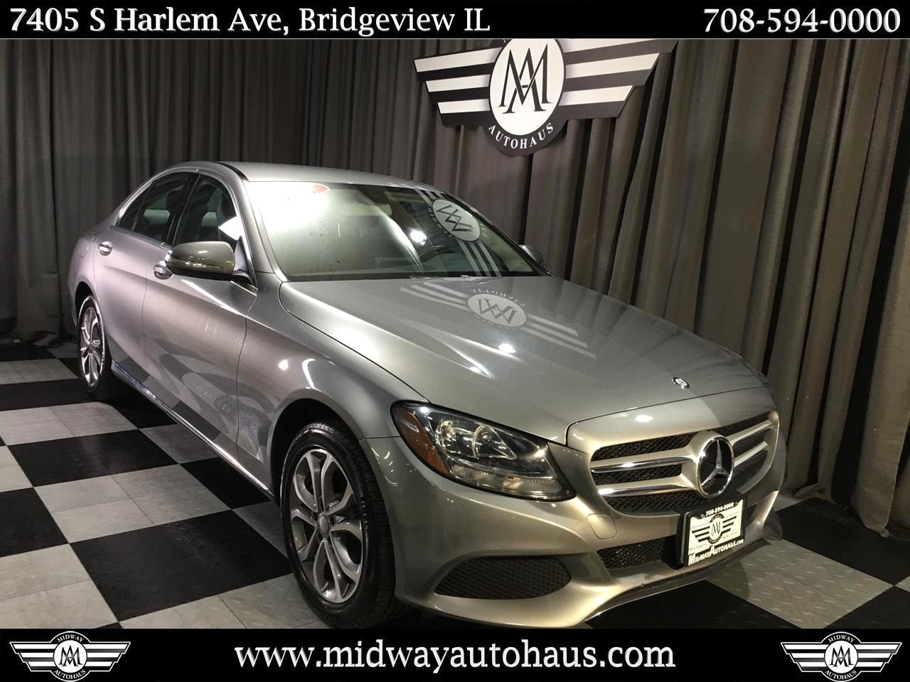Pre-Owned 2015 Mercedes-Benz C-Class C300 4MATIC® Sport Sedan