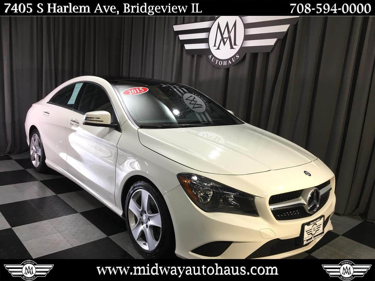 Pre-Owned 2015 Mercedes-Benz CLA 4dr Sdn CLA 250 4MATIC®