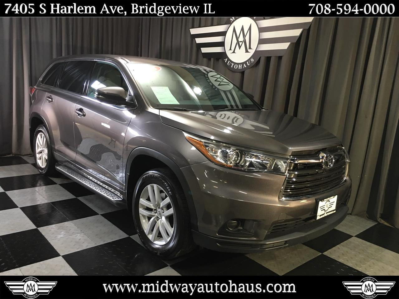 Pre-Owned 2015 Toyota Highlander AWD 4dr V6 LE (Natl)