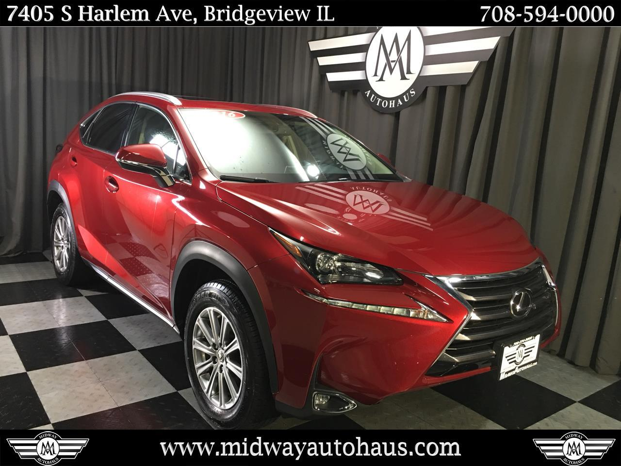 Lexus Pre Owned >> Pre Owned 2016 Lexus Nx 200t Awd 4dr Suv In Bridgeview 23753