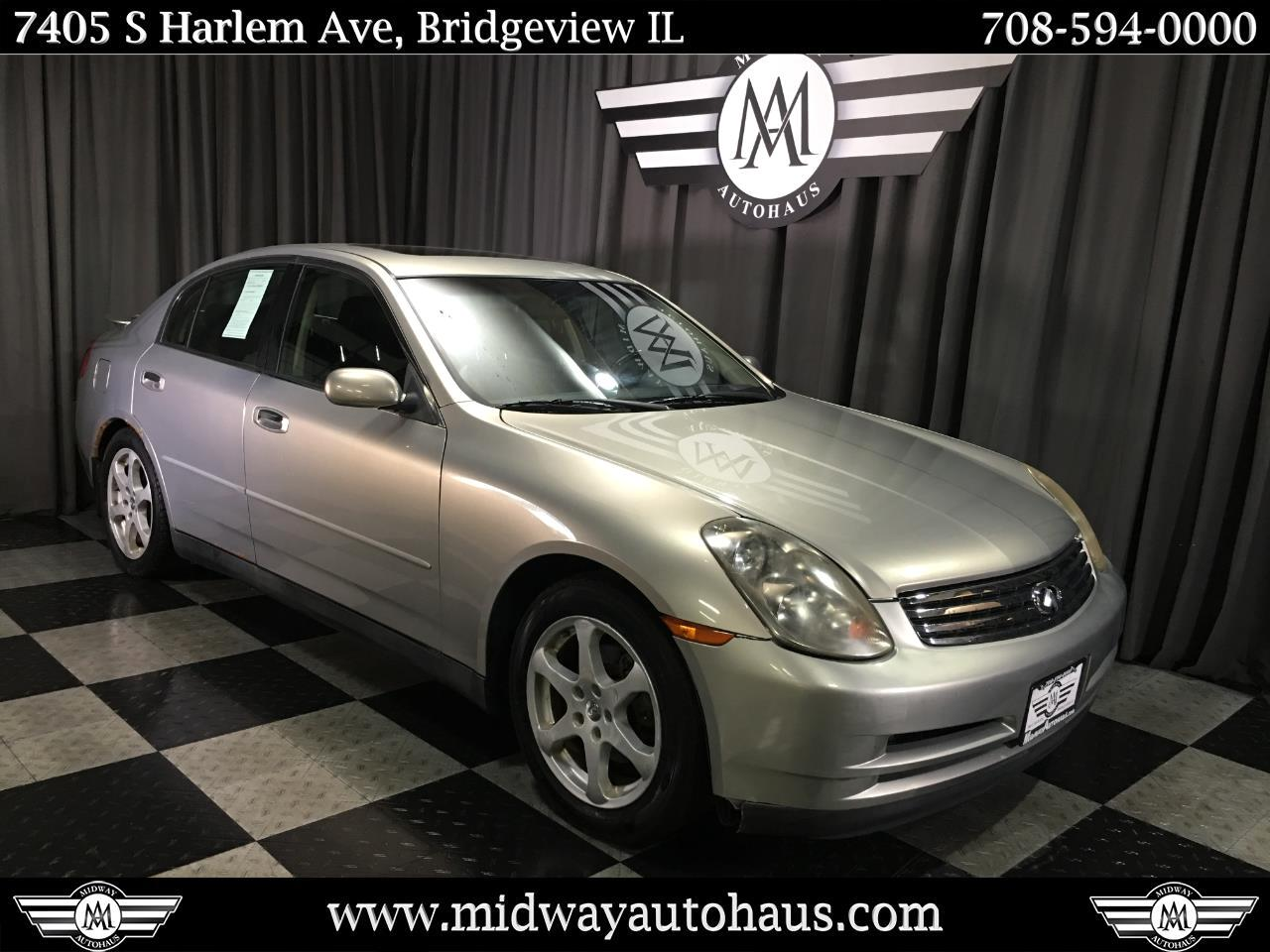 Pre-Owned 2004 INFINITI G35 Sedan 4dr Sdn Auto w/Leather
