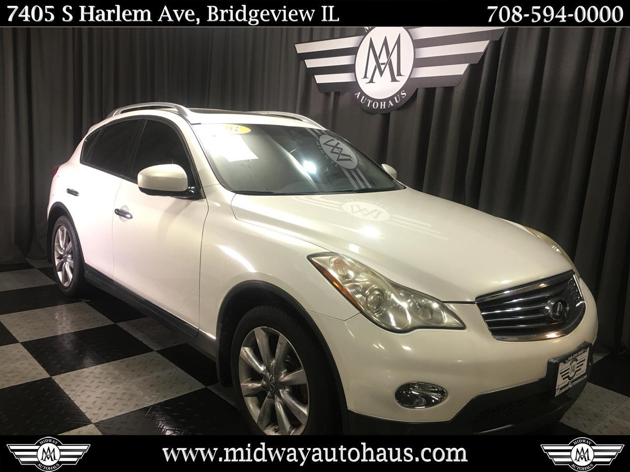 Pre-Owned 2008 INFINITI EX35 AWD 4dr Journey