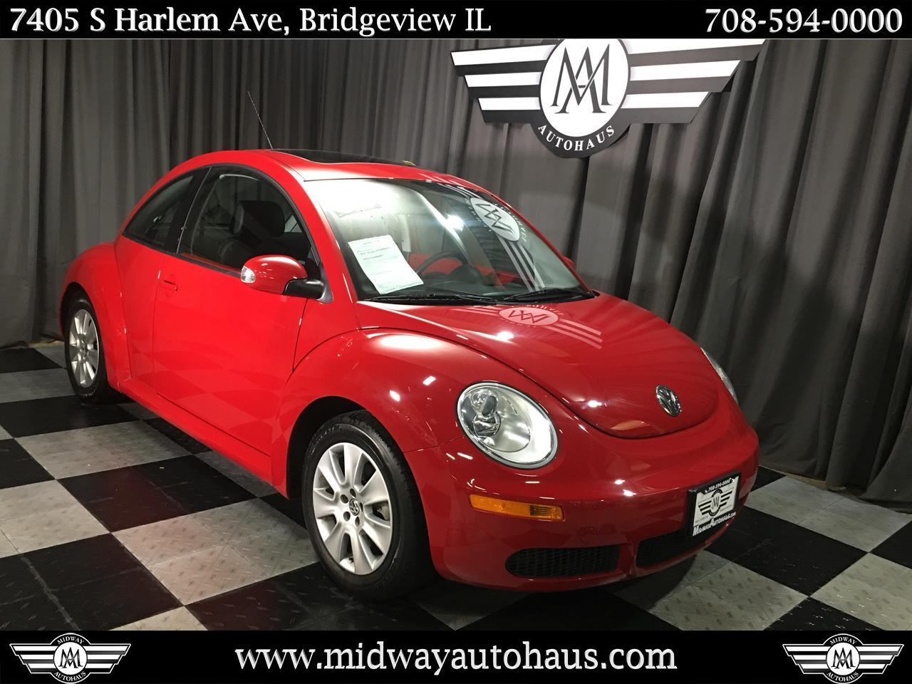 Pre-Owned 2009 Volkswagen New Beetle Coupe 2dr Man S