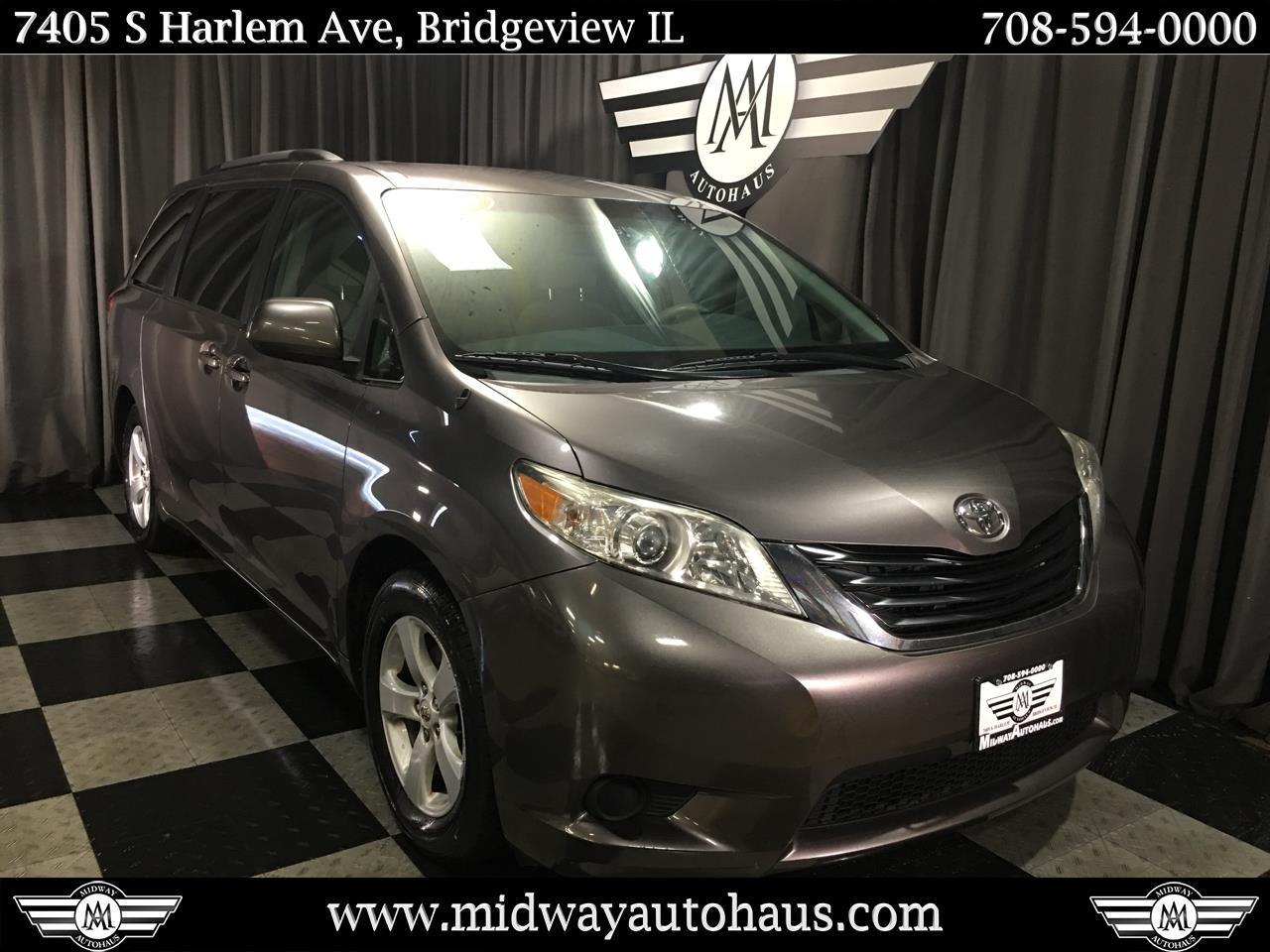 Pre-Owned 2011 Toyota Sienna 5dr 7-Pass Van V6 LE AAS FWD (Natl)