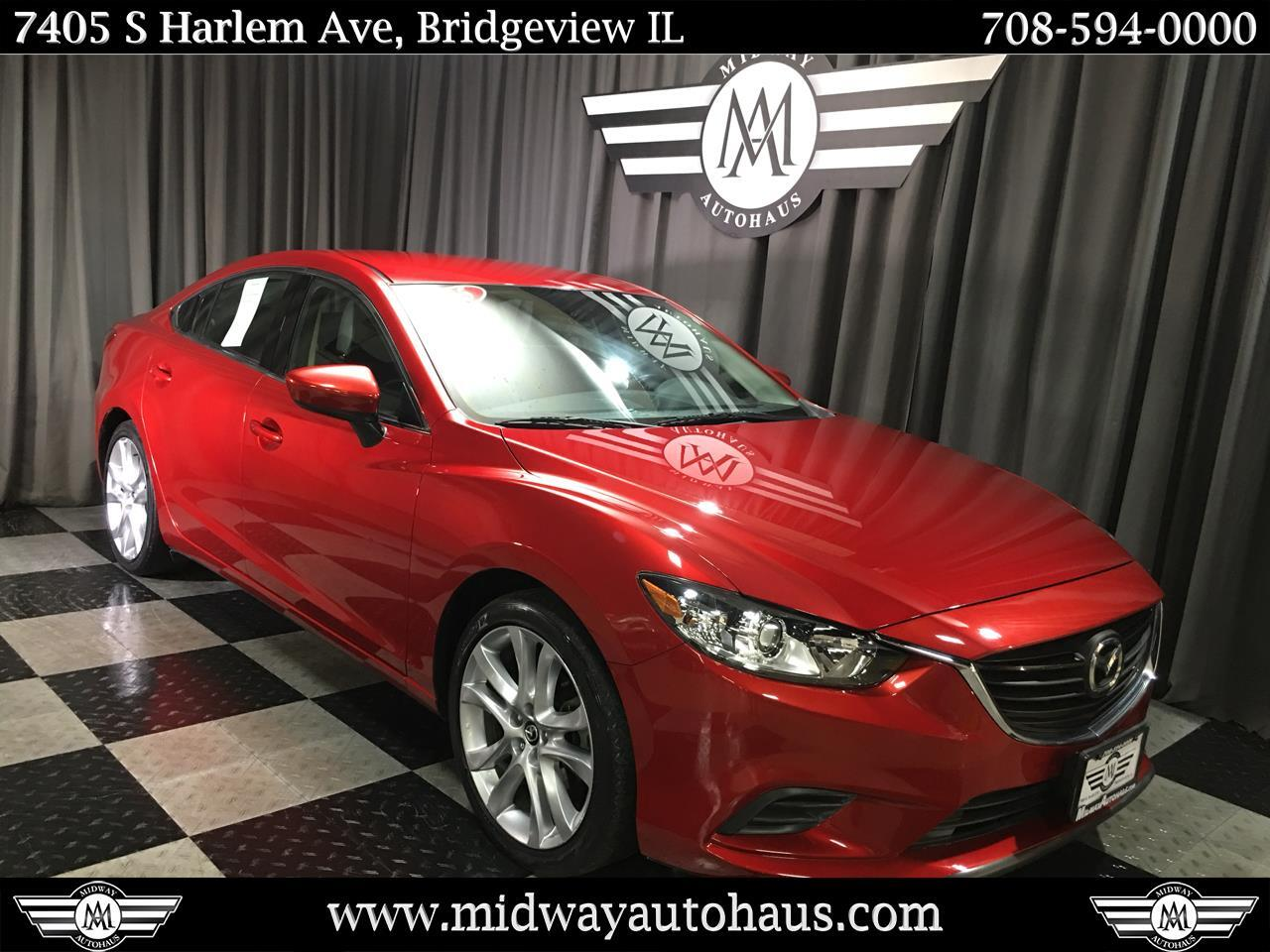 Pre-Owned 2015 Mazda6 4dr Sdn Man i Touring