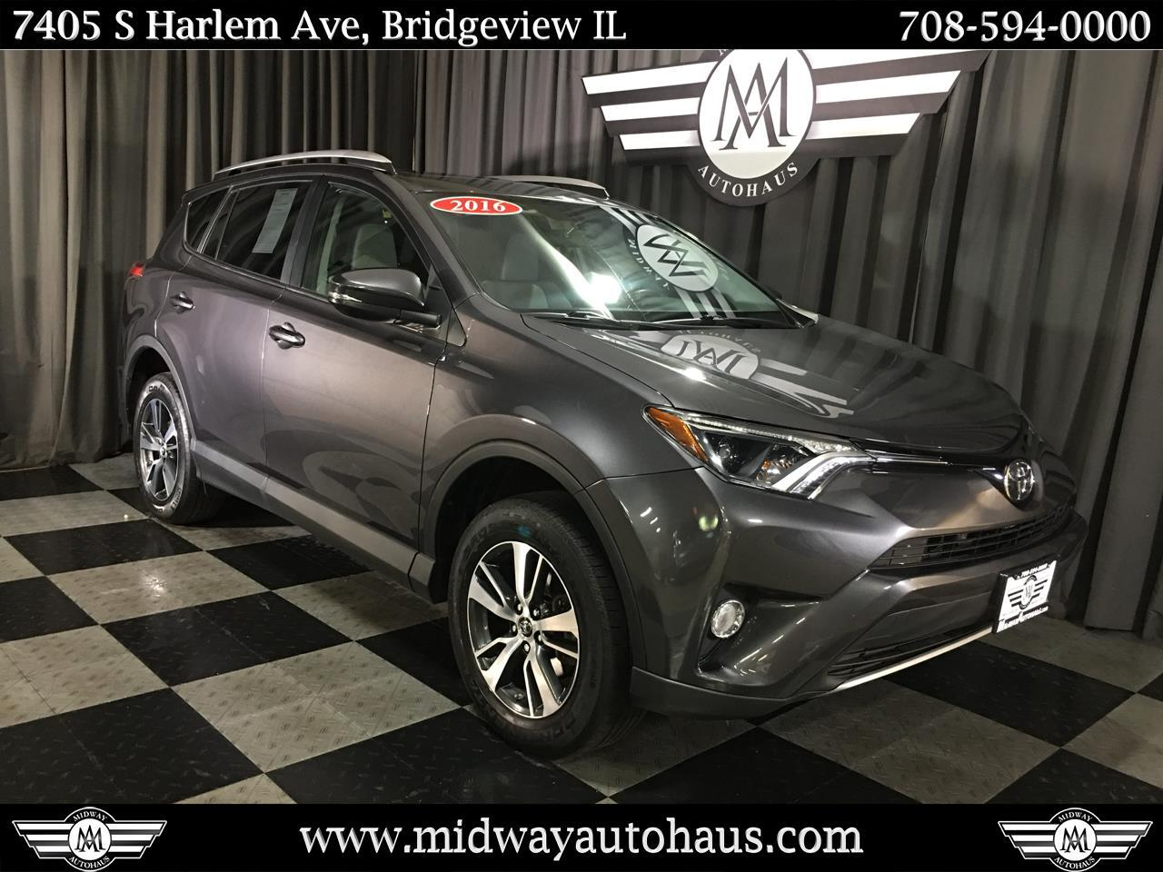 Pre-Owned 2016 Toyota RAV4 AWD 4dr XLE (Natl)