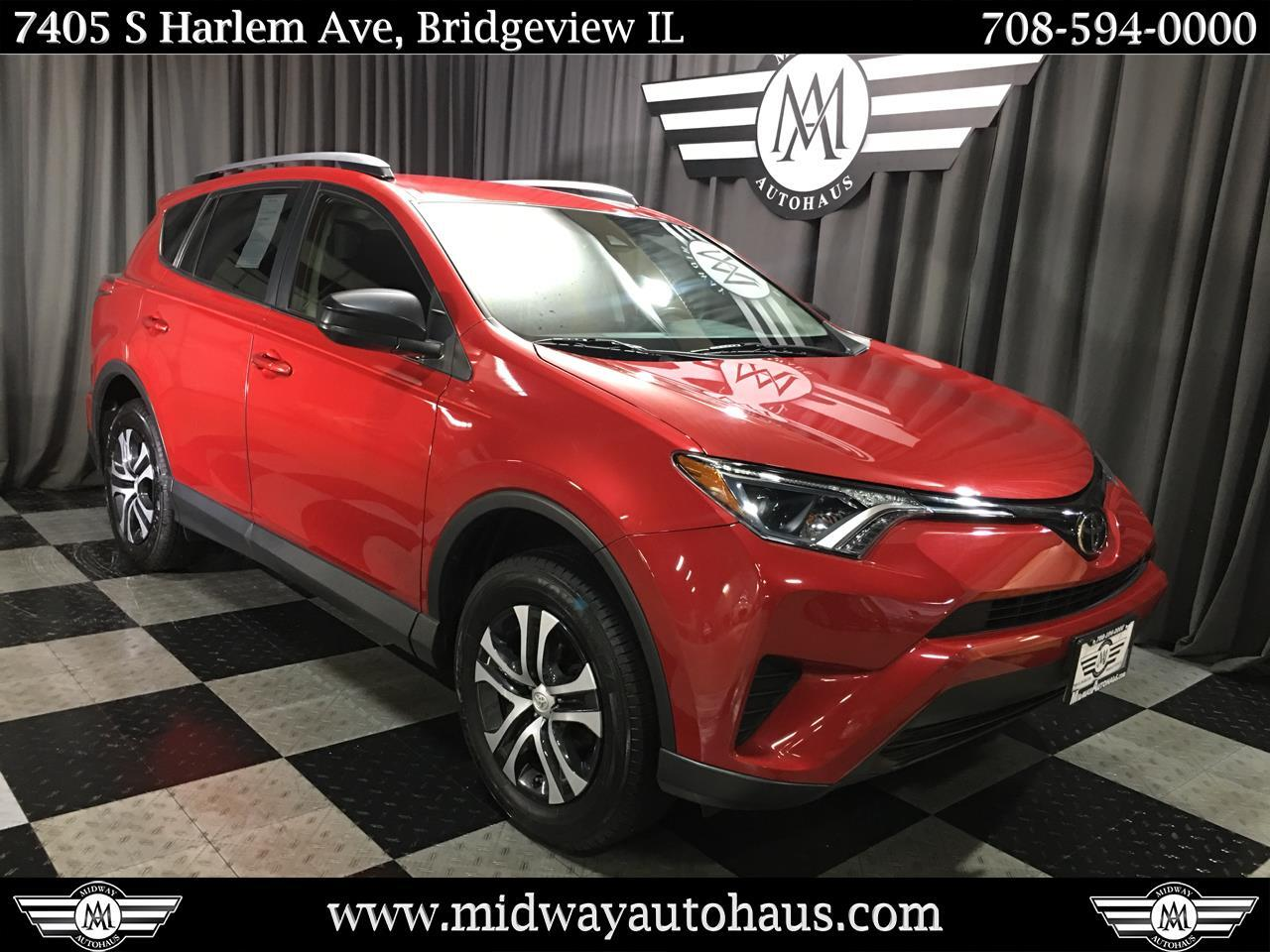 Pre Owned 2017 Toyota Rav4 Le Awd Natl Awd