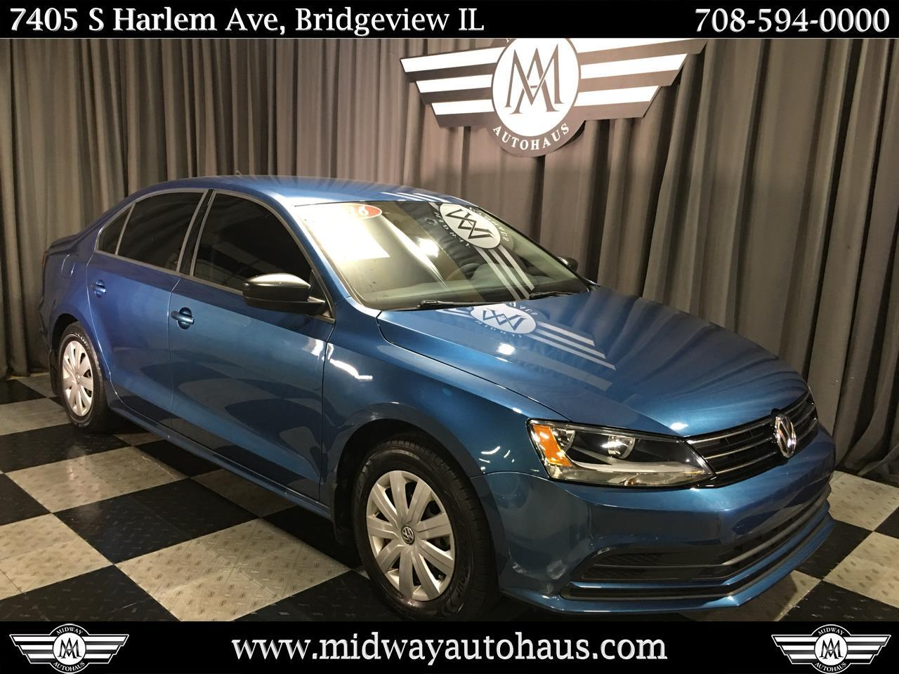 Pre-Owned 2016 Volkswagen Jetta Sedan 4dr Man 1.4T S w/Technology