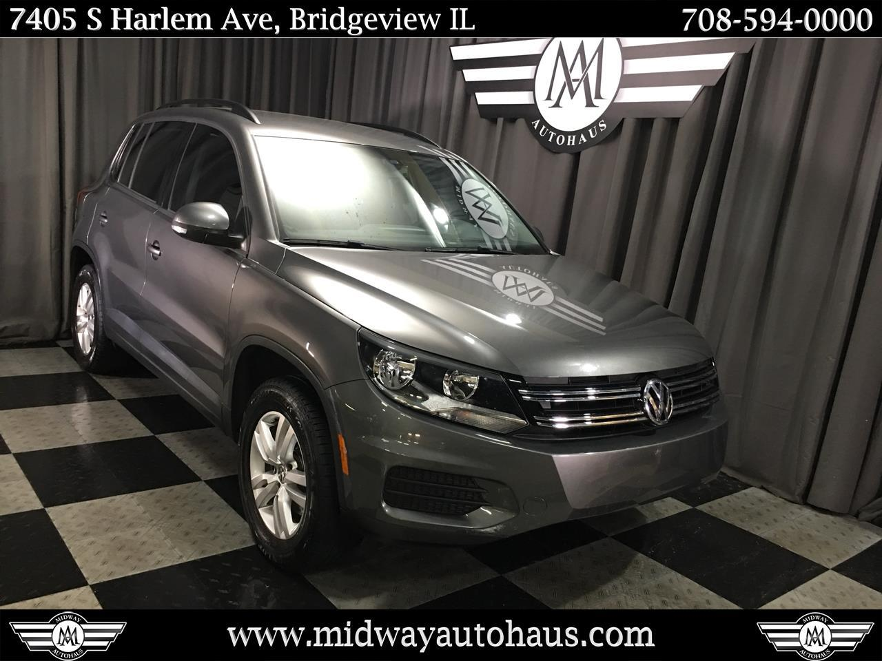 Pre-Owned 2016 Volkswagen Tiguan 2WD 4dr Auto S