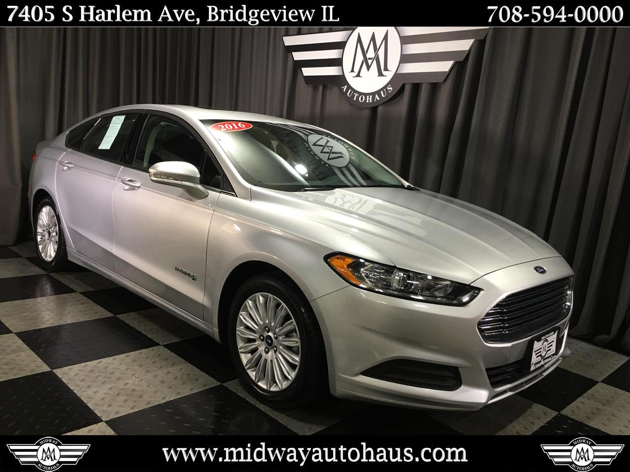 Pre-Owned 2016 Ford Fusion 4dr Sdn SE Hybrid FWD
