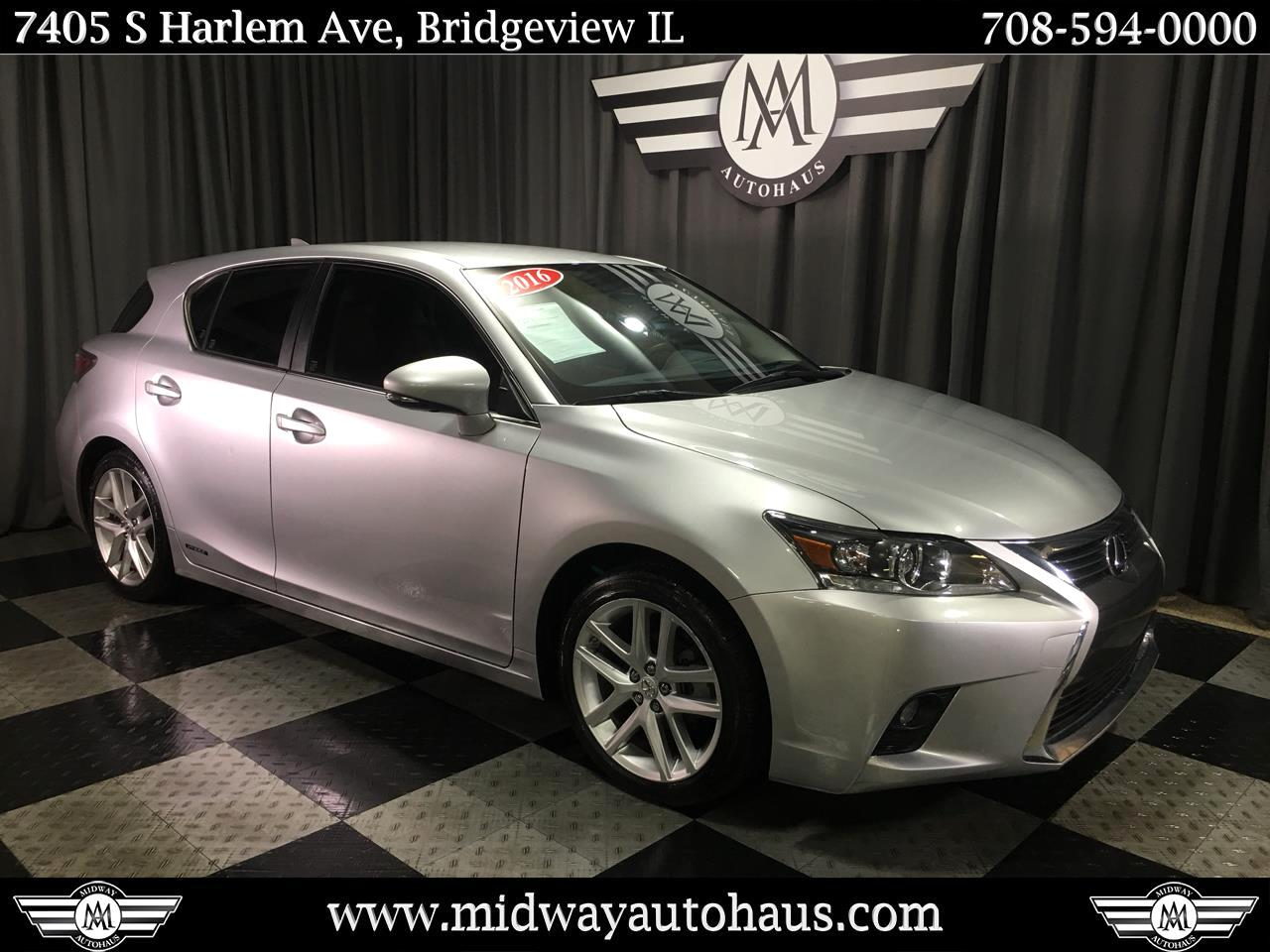 Pre-Owned 2016 Lexus CT 200h 5dr Sdn Hybrid