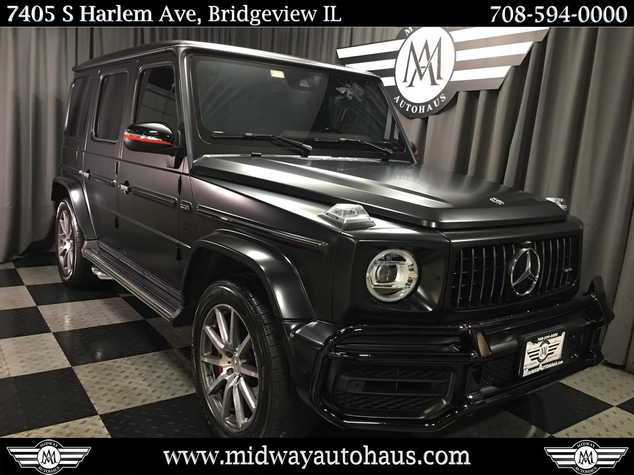 Pre-Owned 2019 Mercedes-Benz G-Class AMG® G 63 4MATIC SUV