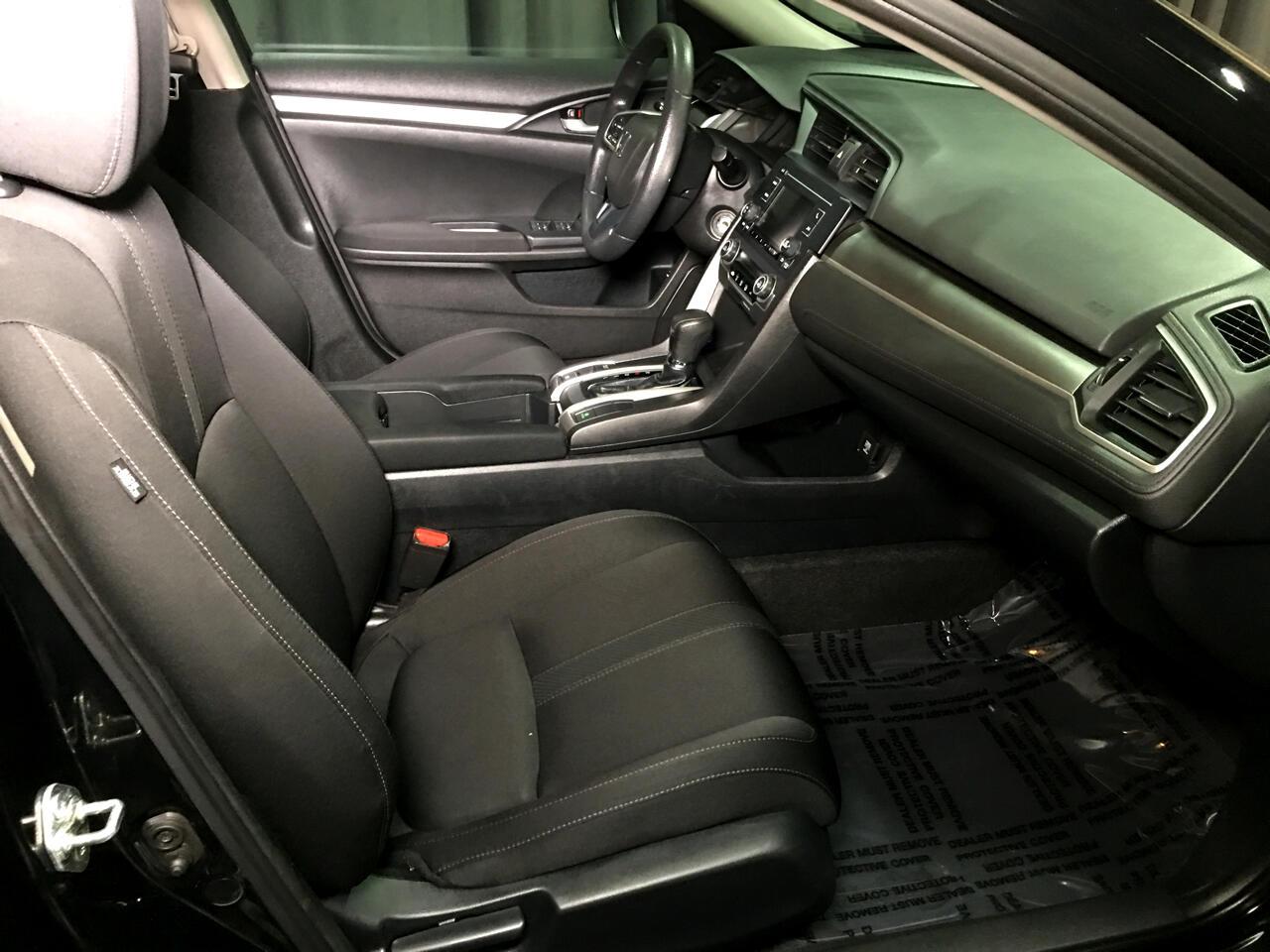 Pre-Owned 2017 Honda Civic Sedan LX CVT