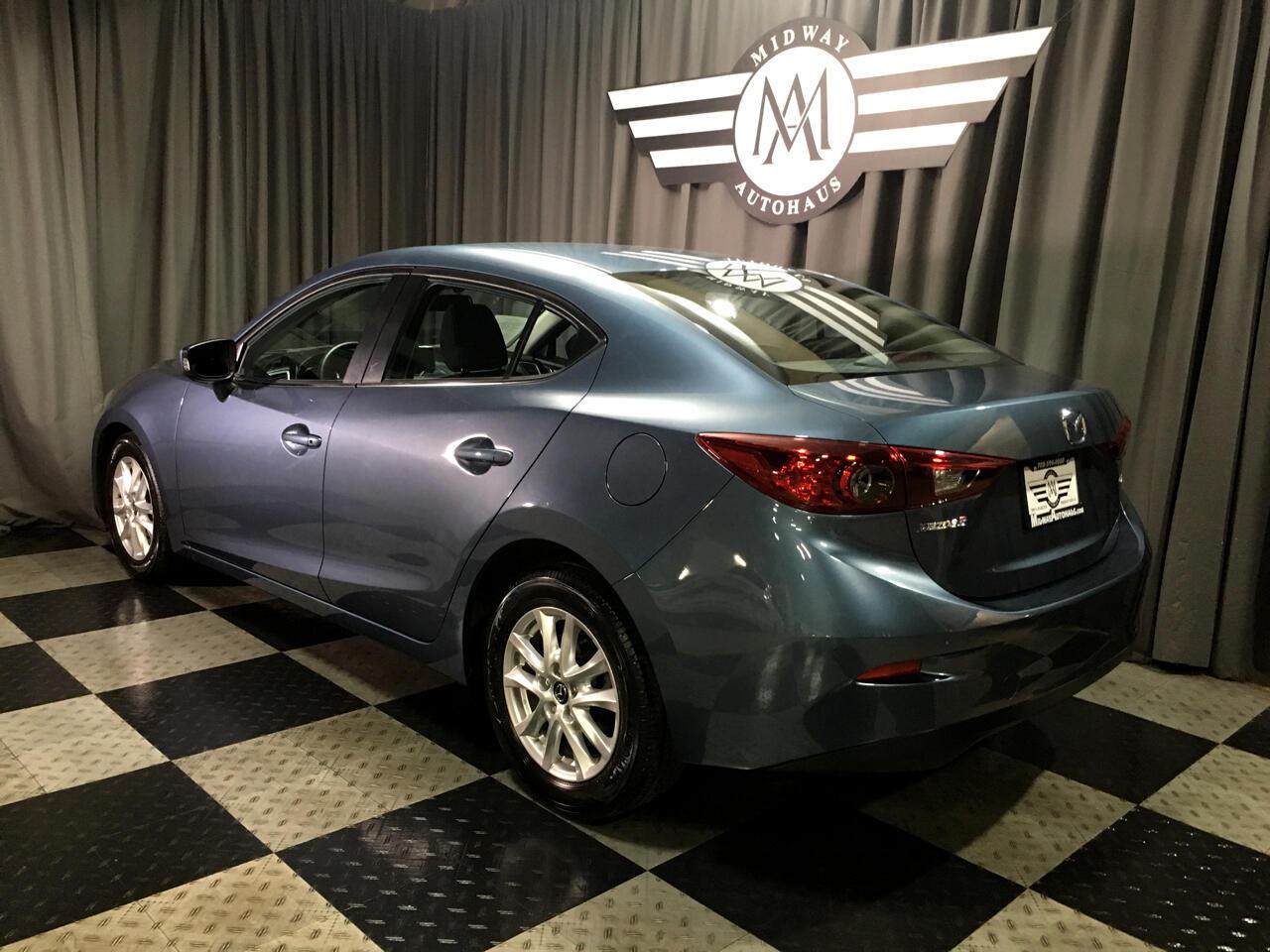 Pre-Owned 2016 Mazda3 4dr Sdn Auto i Sport