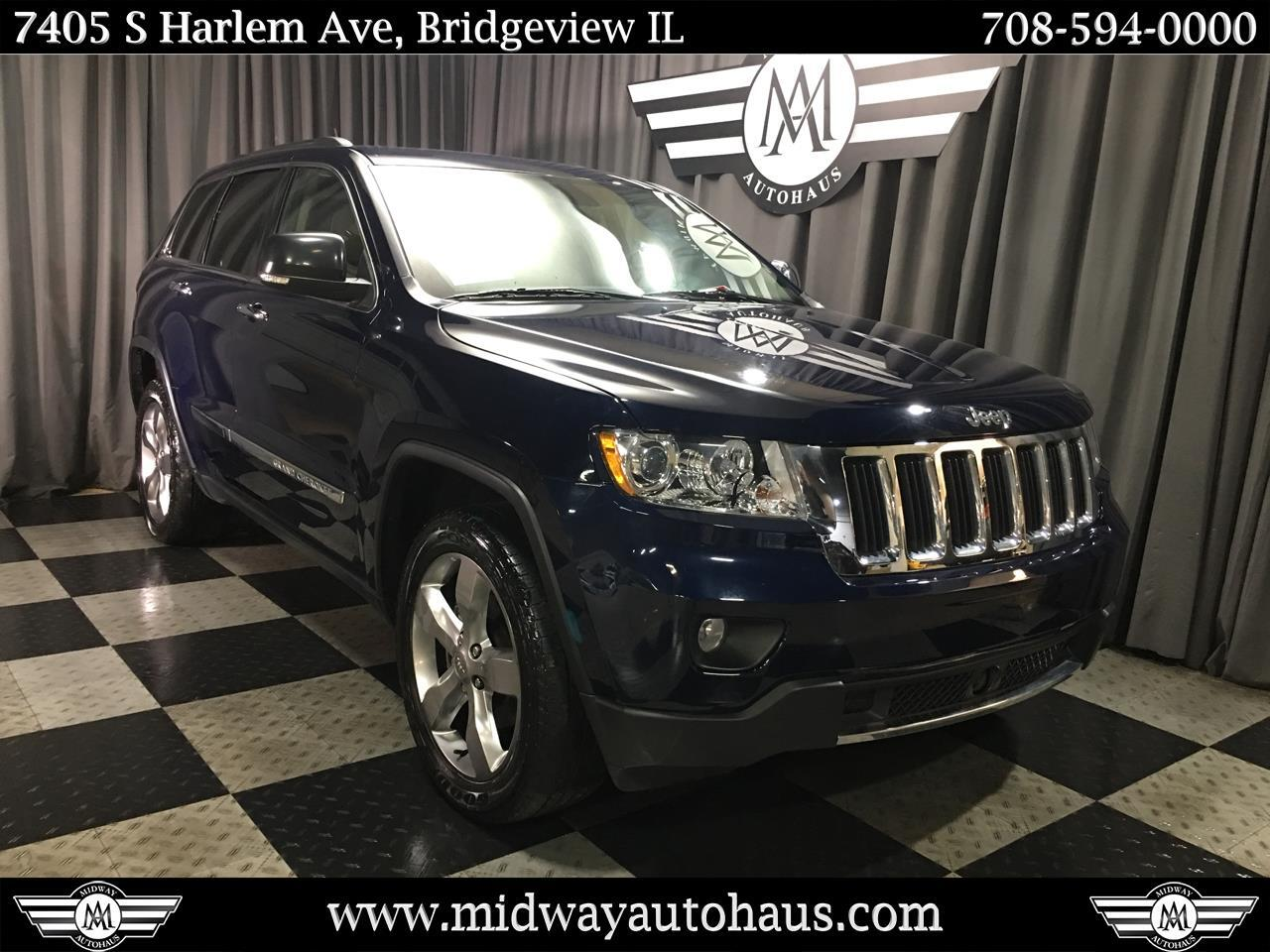Pre-Owned 2013 Jeep Grand Cherokee 4WD 4dr Limited