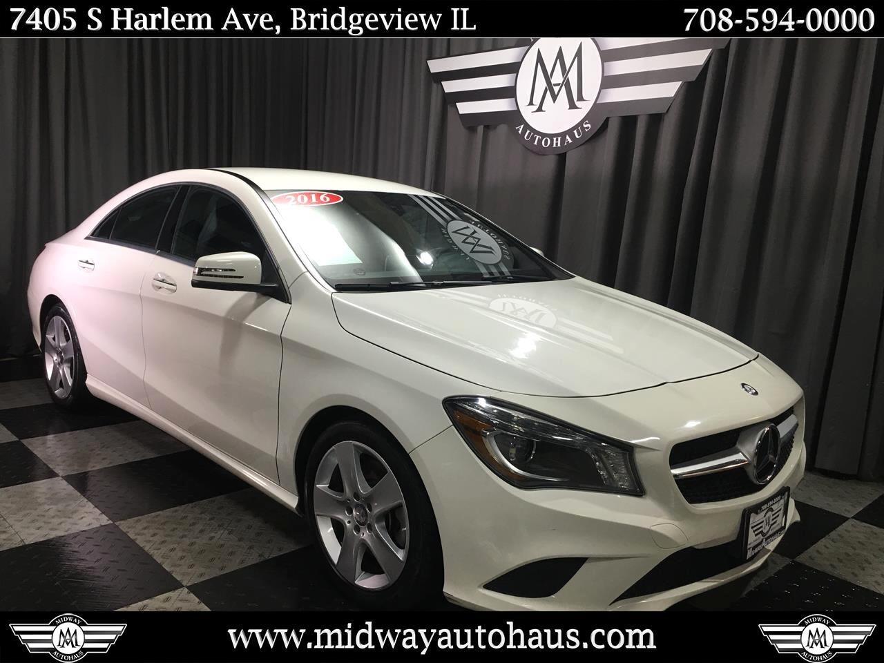 Pre-Owned 2016 Mercedes-Benz CLA 4dr Sdn CLA 250 4MATIC®