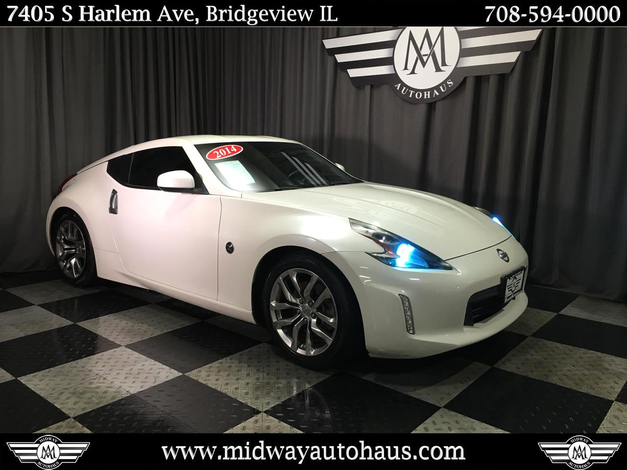 Pre-Owned 2014 Nissan 370Z 2dr Cpe Manual