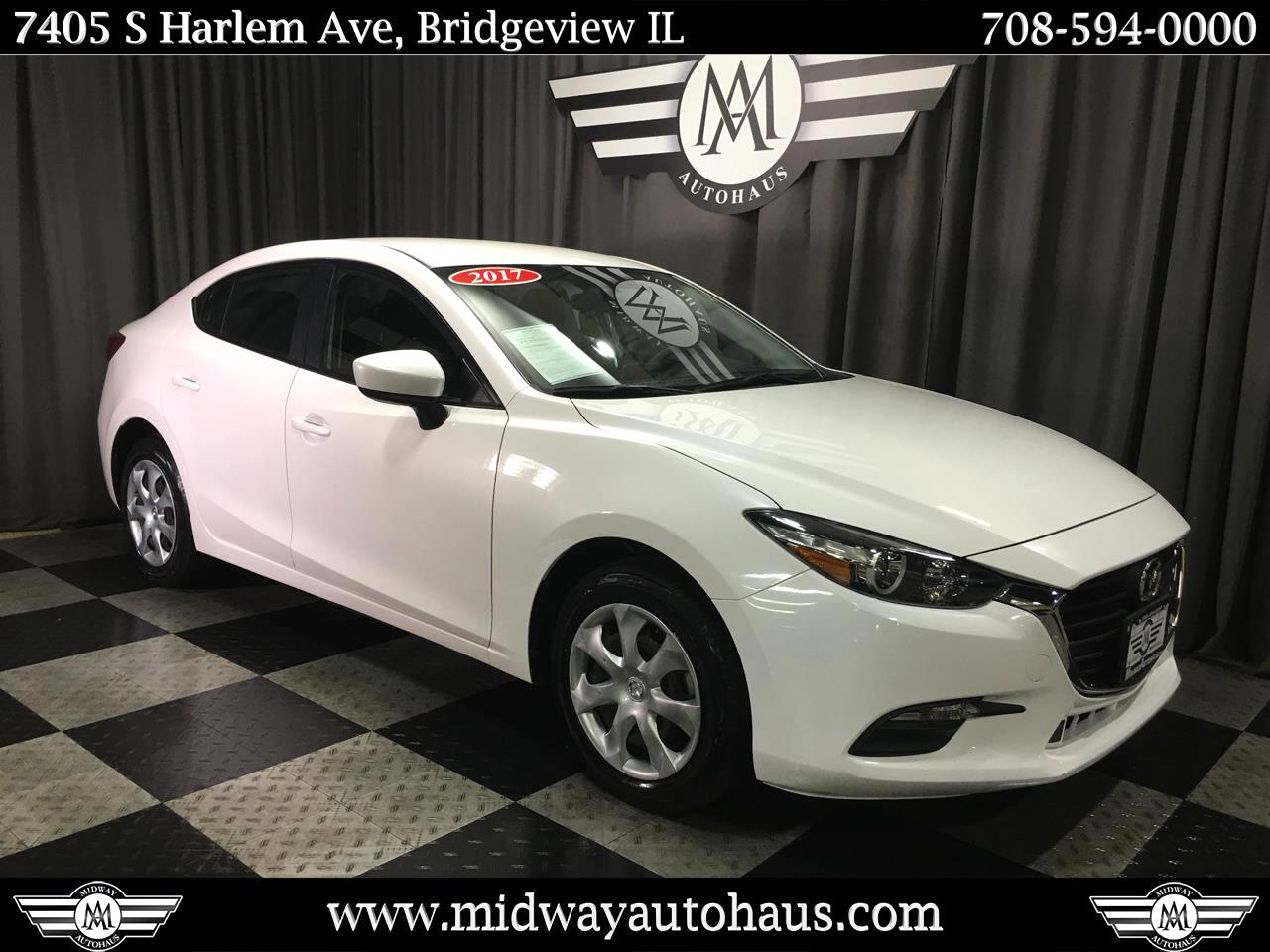 Pre-Owned 2017 Mazda3 4-Door Sport Auto