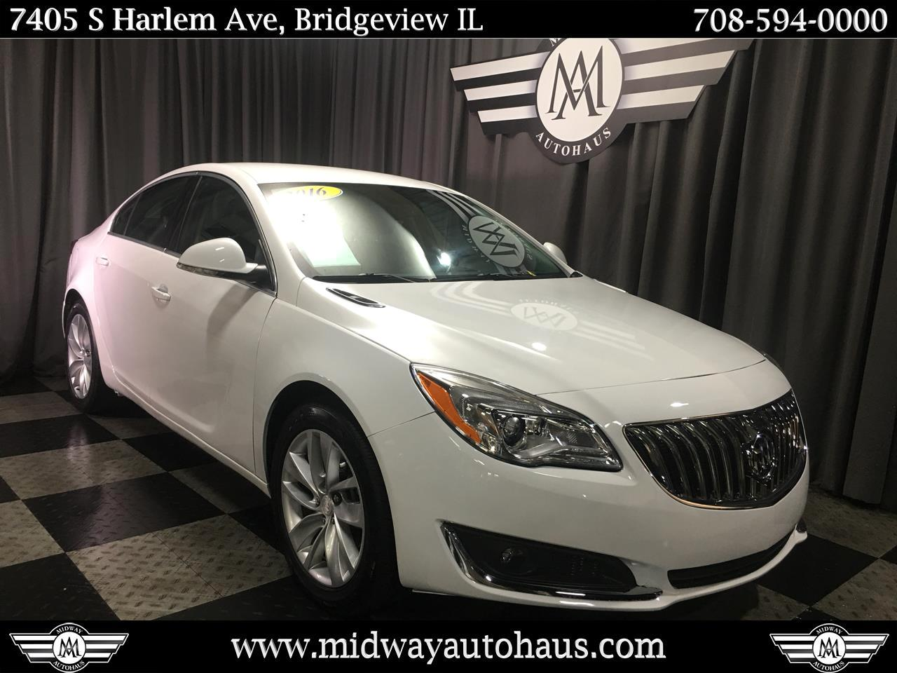 Pre-Owned 2016 Buick Regal 4dr Sdn Premium I AWD