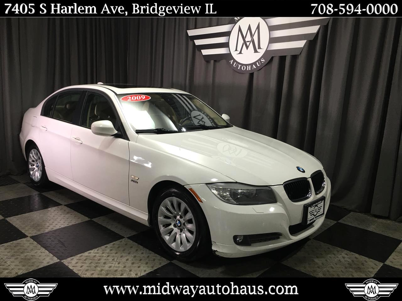 Pre-Owned 2009 BMW 3 Series 4dr Sdn 328i xDrive AWD SULEV