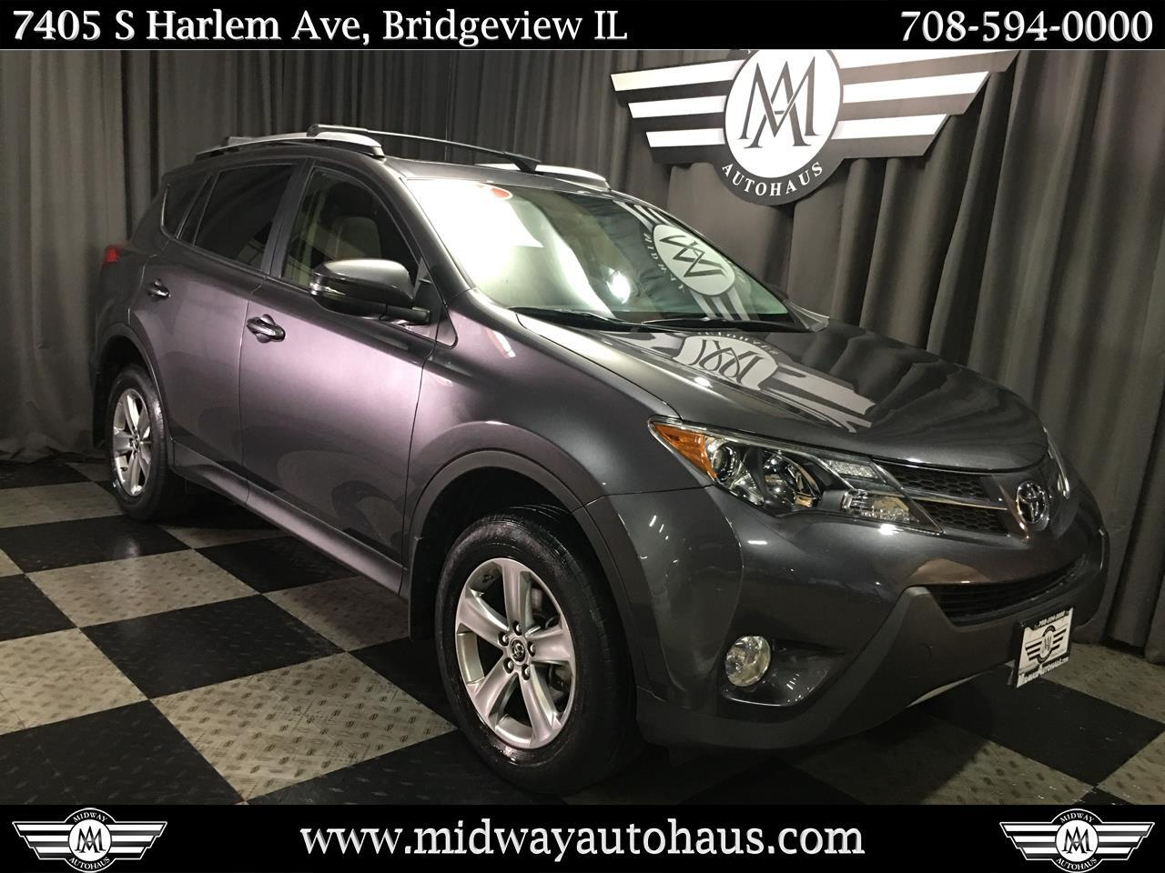 Pre-Owned 2015 Toyota RAV4 AWD 4dr XLE (Natl)