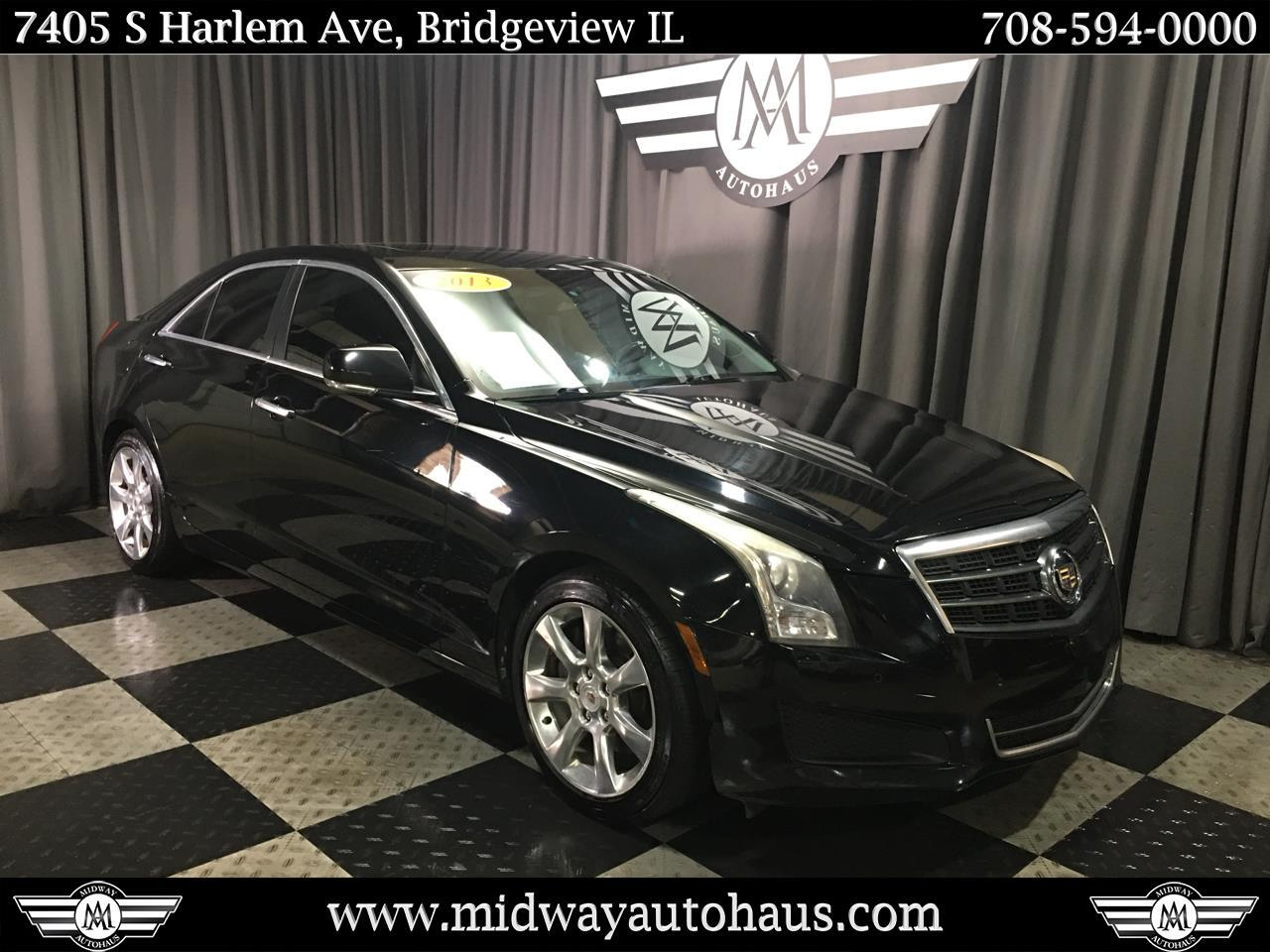 Pre-Owned 2013 Cadillac ATS 4dr Sdn 2.5L Luxury RWD