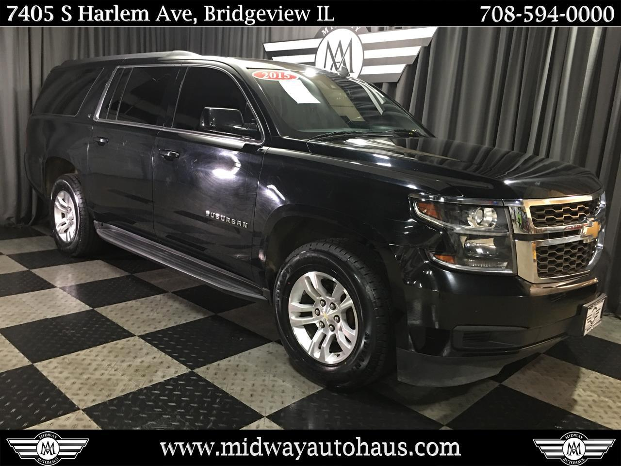 Pre-Owned 2015 Chevrolet Suburban 1500 4WD LT