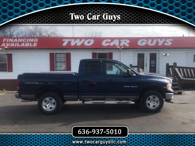 2004 Dodge Ram 1500 SLT Quad Cab Long Bed 4WD