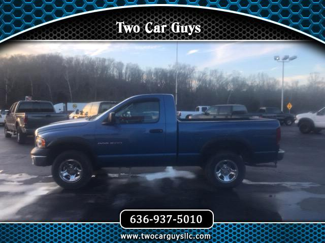 2002 Dodge Ram 1500 ST Short Bed 4WD