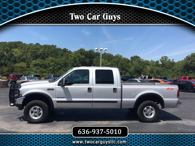 2002 Ford F-250 SD FX4 Crew Cab Long Bed 4WD