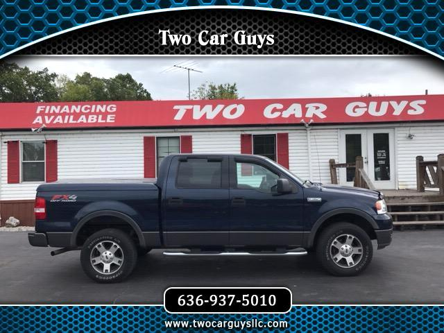 "2004 Ford F-150 4WD SuperCrew 145"" FX4"