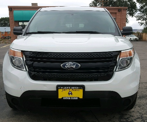 2014 Ford Explorer Police 4WD