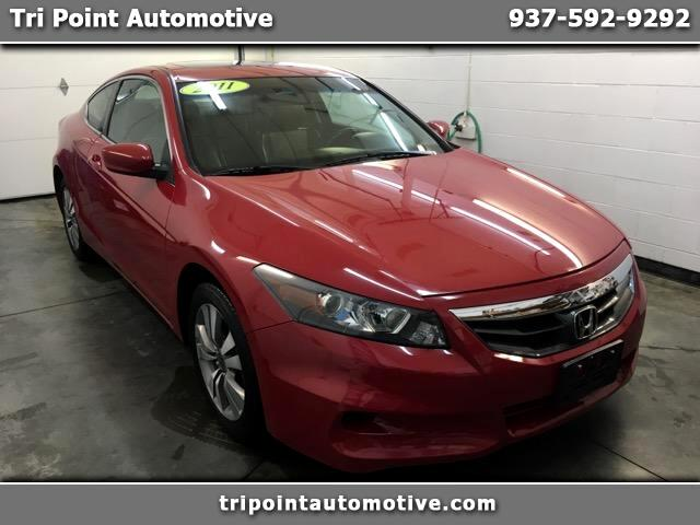 2011 Honda Accord EX-L Coupe AT with Navigation