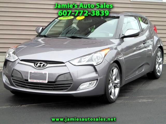 "2012 Hyundai Veloster Base Optioned With ""Style"" & ""Tech"" Packages"
