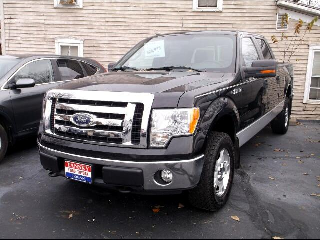 "2010 Ford F-150 4WD SuperCab 163"" XLT"