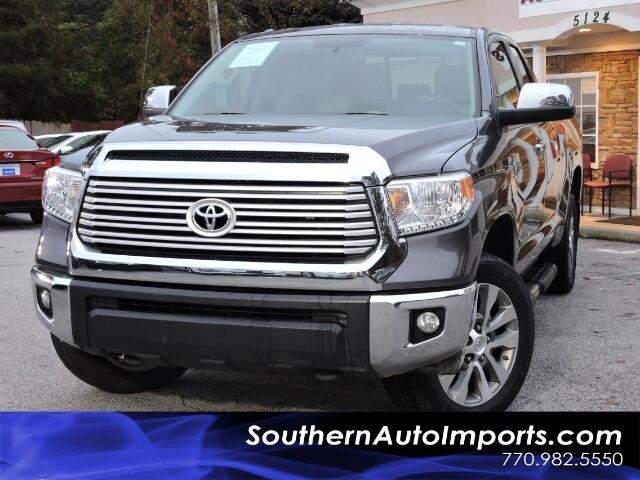 2015 Toyota Tundra Limited DoubleCab 4x4 w/ Navigation Cam Apps Bluet