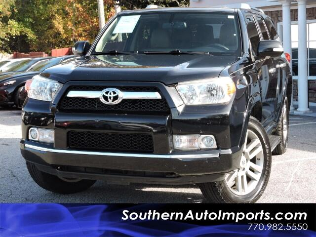 2011 Toyota 4Runner Limited 4WD w/ 3rd Row Seat Bluetooth Leather Sunr