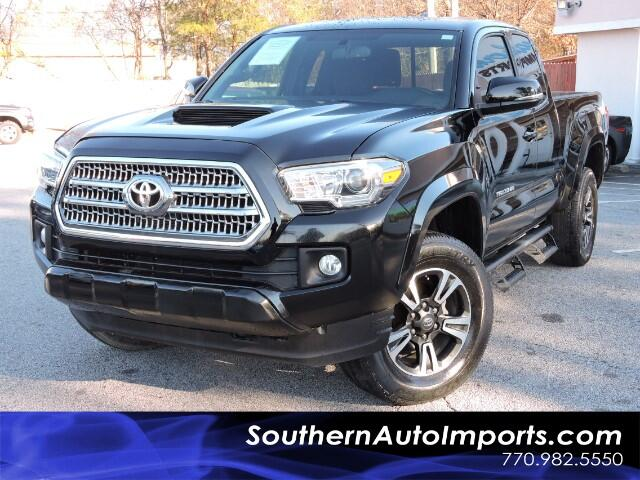2016 Toyota Tacoma SR5 TRD SPORT PACKAGE TOUCH SCREEN BLUETOOTH REAR