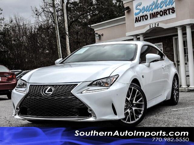 2015 Lexus RC 350 RC350 F-SPORT PACKAGE W/NAVIGATION PADDLE SHIFTERS