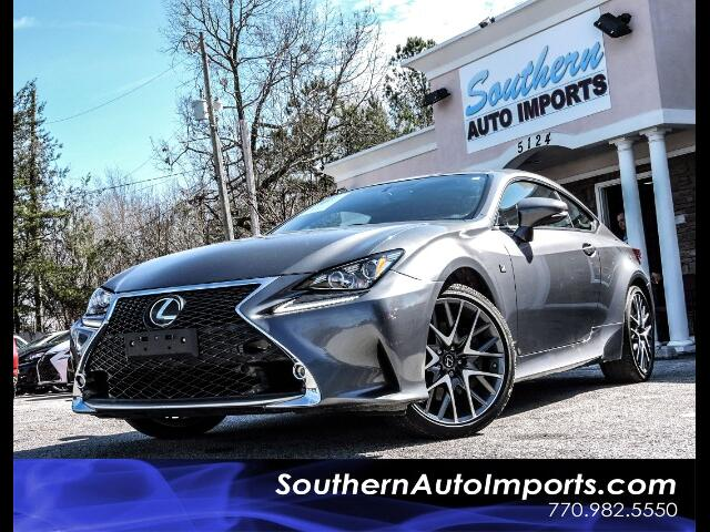 2015 Lexus RC 350 F-SPORT PACKAGE AWD BLIND SPOT MONITOR NAVIGATION