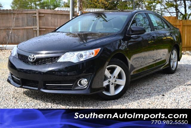 2012 Toyota Camry SE SPORT EDITION  CLEAN CARFAX 1 OWN CERTIFIED CALL US NOW TO DRIVE THIS