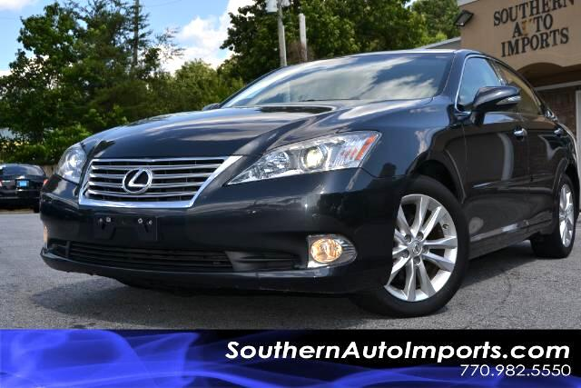 2011 Lexus ES 350 PREMIUM PLUS EDITION NAVIGATION CAMERA BLUETOOTH LEXUS ENFORM SYSTEM PLEAS
