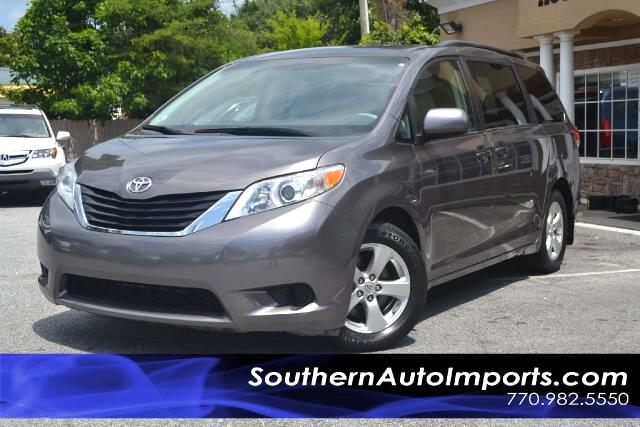 2011 Toyota Sienna LE MODELONE OWNERCLEAN CARFAX CERTIFIEDCALL US NOW AT 866-210-0391 TO DRI