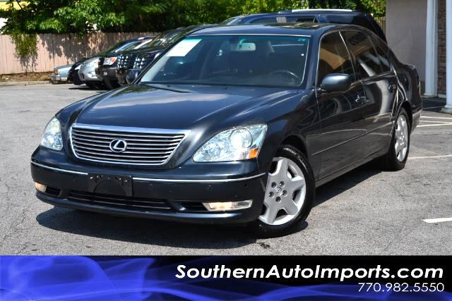 2004 Lexus LS 430 LS430 WNAVIGATIONSUPER CLEANBLACK ON BLACKCALL US NOW AT 866-210-0391 TO